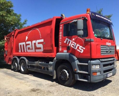 Mars Entsorgung / Abfallwirtschaft