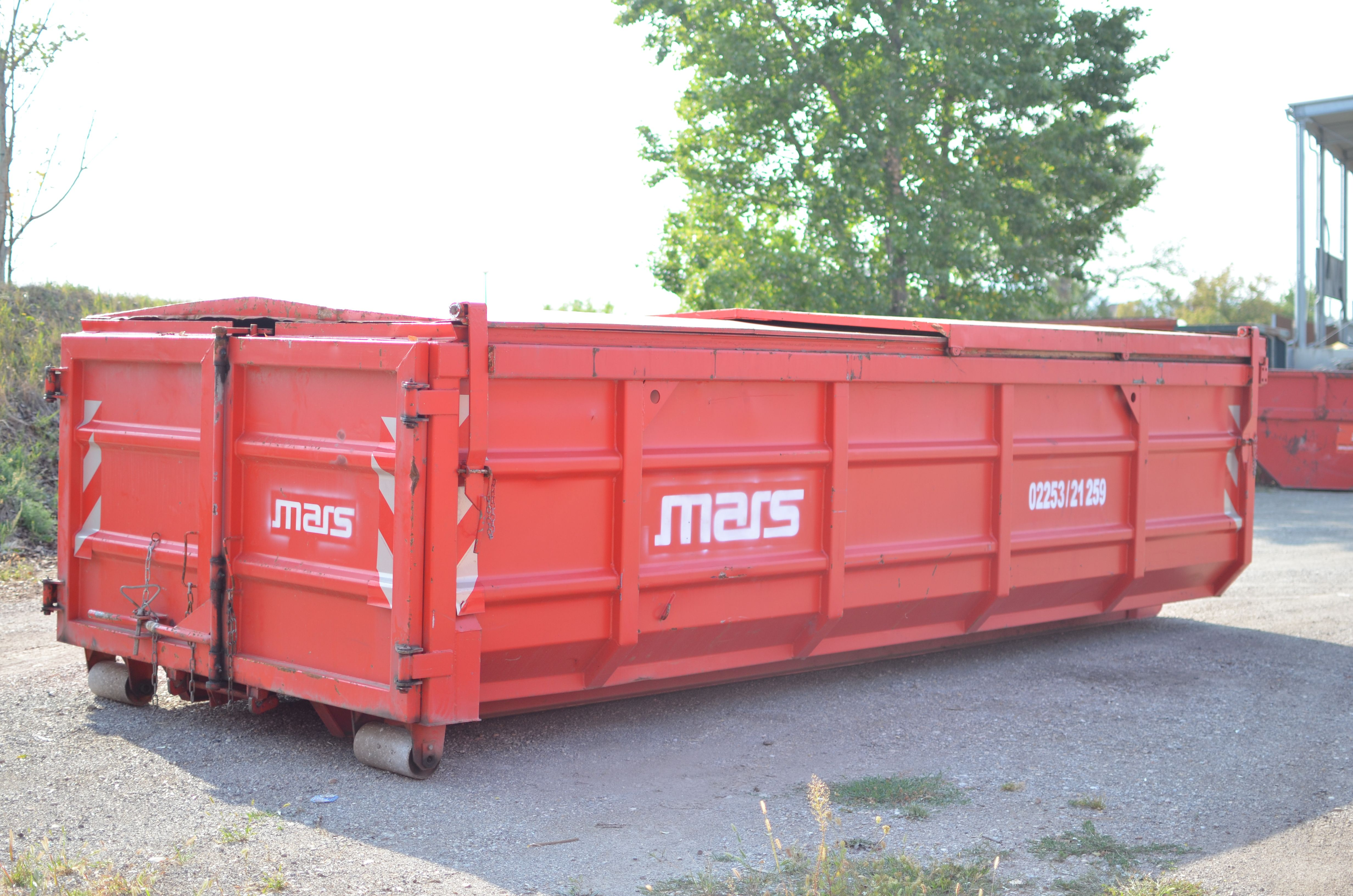 17m³ Schiebedeckelcontainer